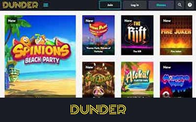 Dunder-Casino-Home-TEST